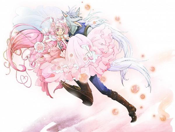 Tags: Anime, Pixiv Id 588258, Smile Precure!, Wolfrun, Hoshizora Miyuki, Cure Happy, Running Away, Fanart From Pixiv, Pixiv, Fanart