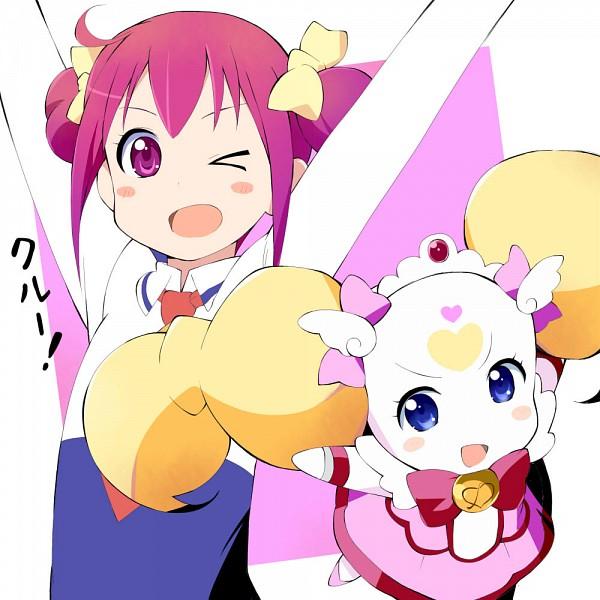 Tags: Anime, Wara (Warapro), Smile Precure!, Hoshizora Miyuki, Candy (Smile Precure), Cure Candy, Cure Happy (Cosplay), Fanart