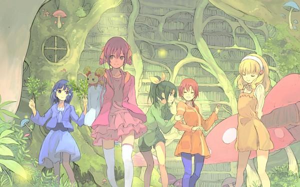 Tags: Anime, Toromi Chuuka, Smile Precure!, Midorikawa Nao, Hino Akane, Hoshizora Miyuki, Kise Yayoi, Candy (Smile Precure), Aoki Reika, Fanart, Fanart From Pixiv, Pixiv, Wallpaper