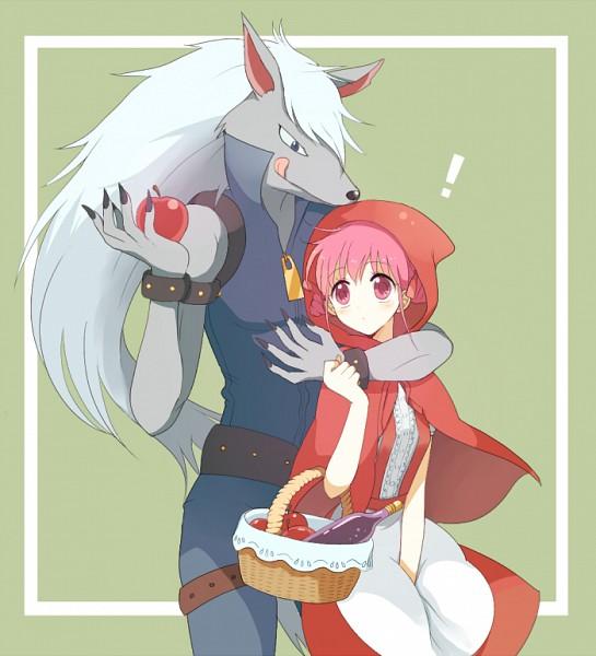 Tags: Anime, May (Pixiv Id 233774), Smile Precure!, Wolfrun, Hoshizora Miyuki, Red Riding Hood (Cosplay), Pixiv, Fanart, Fanart From Pixiv