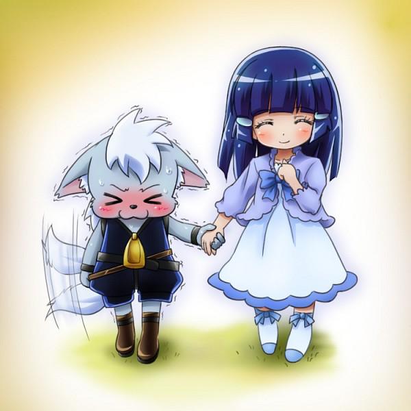 Tags: Anime, Mameshiba (Artist), Smile Precure!, Wolfrun, Aoki Reika, Fanart From Pixiv, Pixiv, Fanart