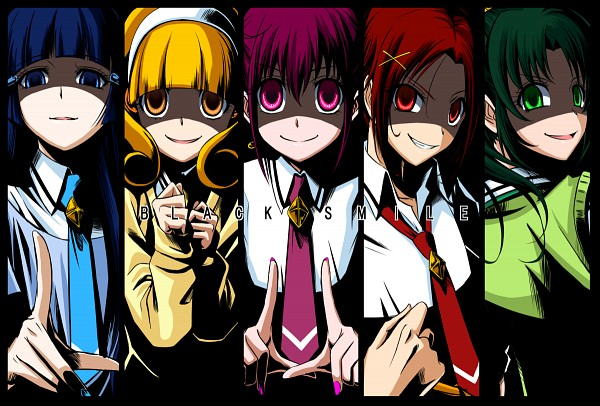 Tags: Anime, Mahkn, Smile Precure!, Midorikawa Nao, Hino Akane, Hoshizora Miyuki, Kise Yayoi, Aoki Reika, Tie Clip, Pixiv, Fanart, Fanart From Pixiv