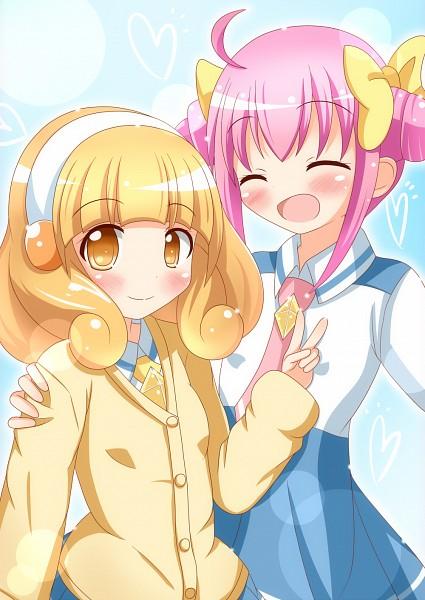 Tags: Anime, Zenon (For Achieve), Smile Precure!, Kise Yayoi, Hoshizora Miyuki, Pixiv, Fanart, Fanart From Pixiv