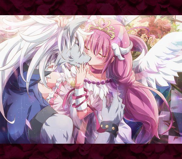 Tags: Anime, Ikatomo, Smile Precure!, Hoshizora Miyuki, Ultra Cure Happy, Wolfrun, Fanart, Fanart From Pixiv, Pixiv