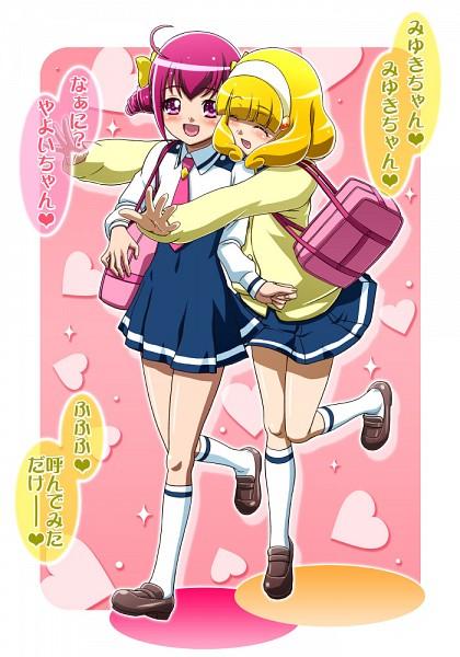 Tags: Anime, Gambler Club, Smile Precure!, Kise Yayoi, Hoshizora Miyuki, Pixiv, Fanart, Fanart From Pixiv