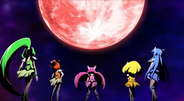Tags: Anime, Pixiv Id 5739884, Smile Precure!, Cure Sunny, Midorikawa Nao, Cure Peace, Hino Akane, Cure March, Hoshizora Miyuki, Cure Happy, Kise Yayoi, Cure Beauty, Aoki Reika