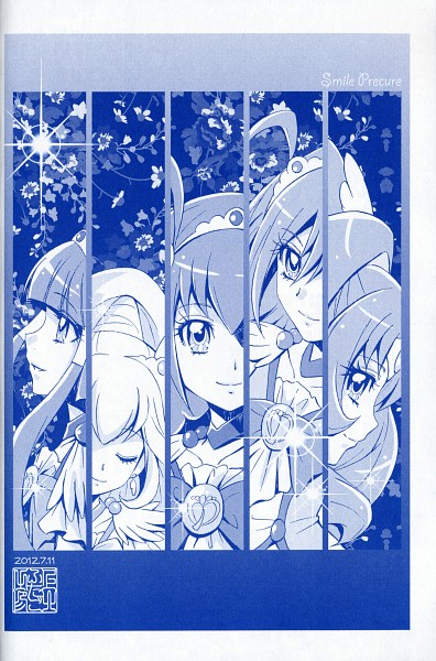 Tags: Anime, Kamikita Futago, Smile Precure!, Hino Akane, Cure March, Hoshizora Miyuki, Cure Happy, Kise Yayoi, Cure Beauty, Aoki Reika, Cure Sunny, Midorikawa Nao, Cure Peace