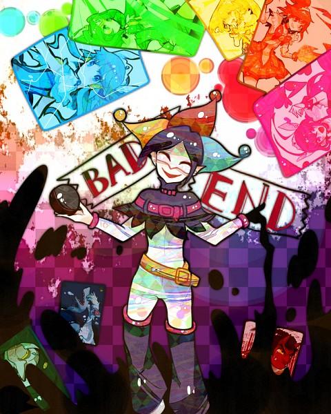 Tags: Anime, Ringetsumon, Smile Precure!, Cure Happy, Kise Yayoi, Cure Beauty, Akaooni, Aoki Reika, Cure Sunny, Majorina, Midorikawa Nao, Cure Peace, Joker (Smile Precure)