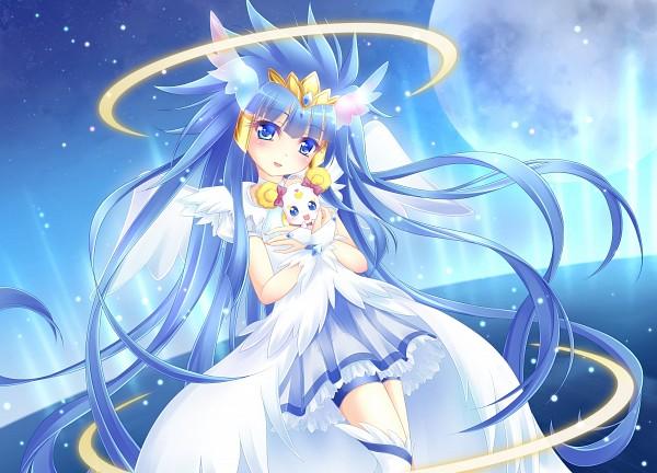 Tags: Anime, Pixiv Id 3183303, Smile Precure!, Aoki Reika, Cure Beauty, Candy (Smile Precure), Fanart From Pixiv, Pixiv, Fanart