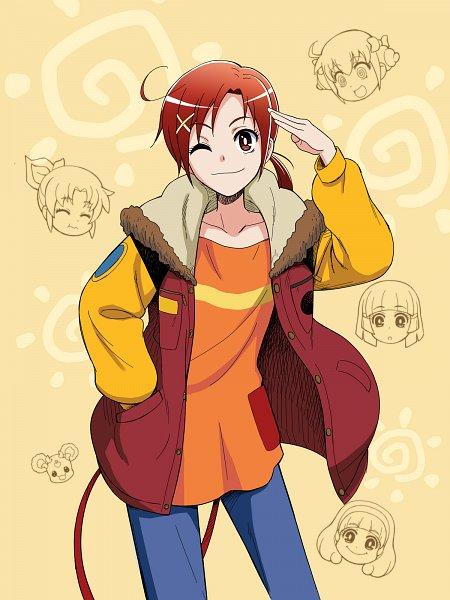 Tags: Anime, Pixiv Id 17340, Smile Precure!, Hoshizora Miyuki, Kise Yayoi, Candy (Smile Precure), Aoki Reika, Midorikawa Nao, Hino Akane, Sun (Symbol), Beige Background, Fanart From Pixiv, Pixiv
