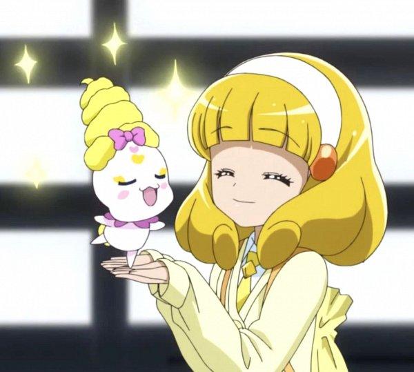 Tags: Anime, Smile Precure!, Kise Yayoi, Candy (Smile Precure), Screenshot