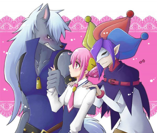 Tags: Anime, Hayabusakoi, Smile Precure!, Joker (Smile Precure), Wolfrun, Hoshizora Miyuki, Fanart From Pixiv, Pixiv, Fanart