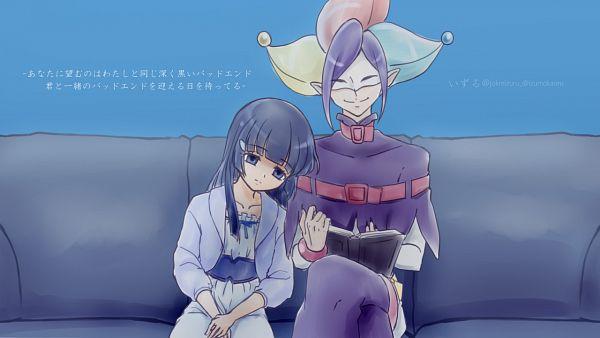 Tags: Anime, Izuru (Pixiv3357239), Smile Precure!, Joker (Smile Precure), Aoki Reika, Tumblr