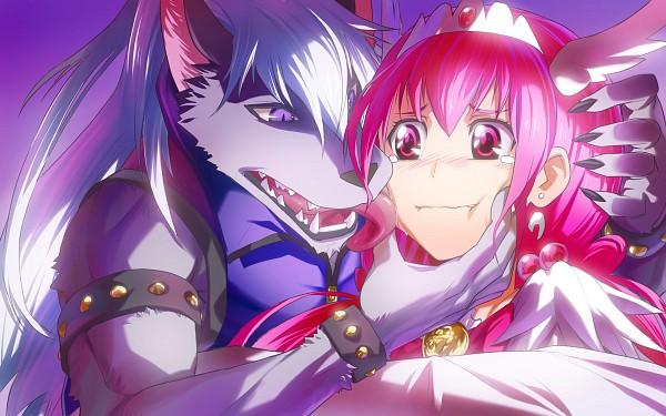 Tags: Anime, Pixiv Id 1062101, Smile Precure!, Cure Happy, Wolfrun, Hoshizora Miyuki, Wavy Mouth, Wallpaper, Fanart, Fanart From Pixiv, Pixiv