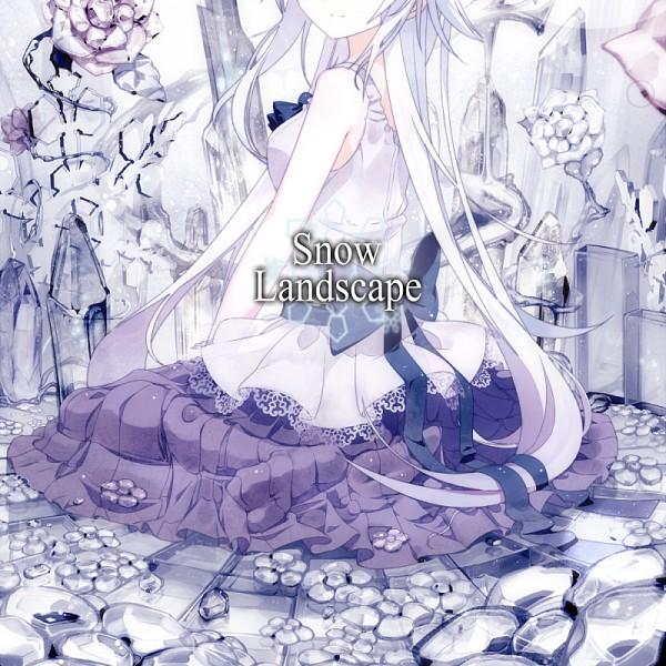 Tags: Anime, no more1080, Snow Landscape, Covering Face, Surreal, Bright Colors, Pixiv, Comic Market 81