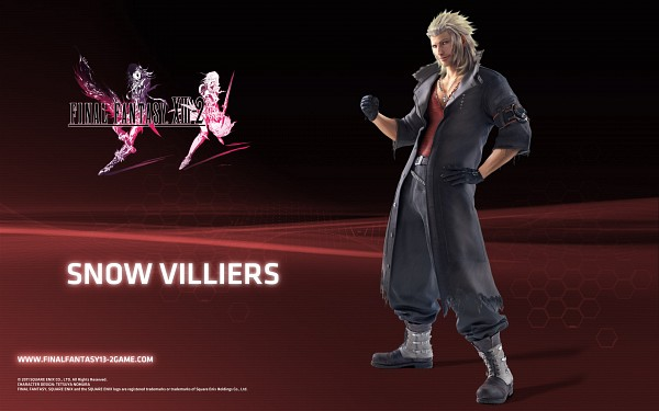 Tags: Anime, SQUARE ENIX, Final Fantasy XIII, Snow Villiers, Wallpaper