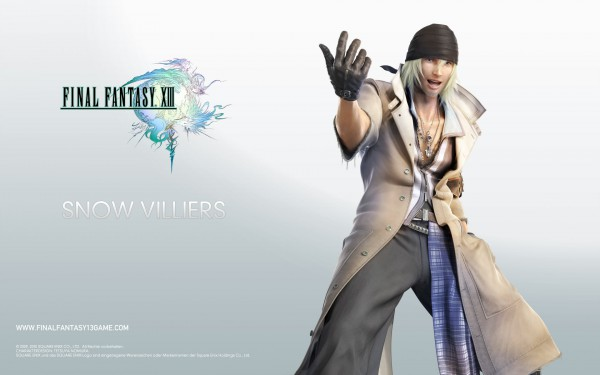 Tags: Anime, Final Fantasy XIII, Snow Villiers, Wallpaper