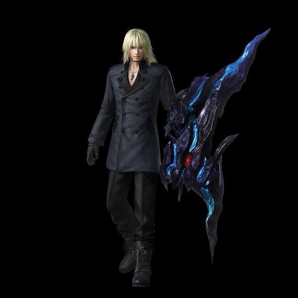 Tags: Anime, SQUARE ENIX, Dissidia Final Fantasy NT, Dissidia, Final Fantasy XIII, Snow Villiers, Laced Shoes, Official Art, 3D