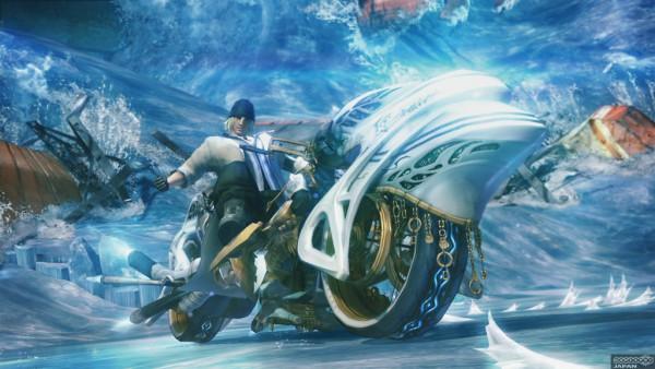 Tags: Anime, Final Fantasy XIII, Nix (Shiva Sisters), Stiria, Snow Villiers, Wallpaper, Shiva Sisters