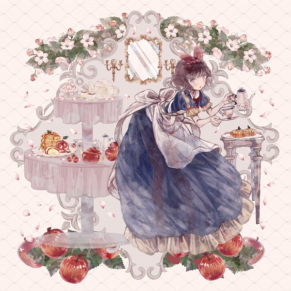 Tags: Anime, Pixiv Id 2169017, Snow White and the Seven Dwarfs, Snow White, Pancakes, Pixiv, Fanart From Pixiv, Fanart