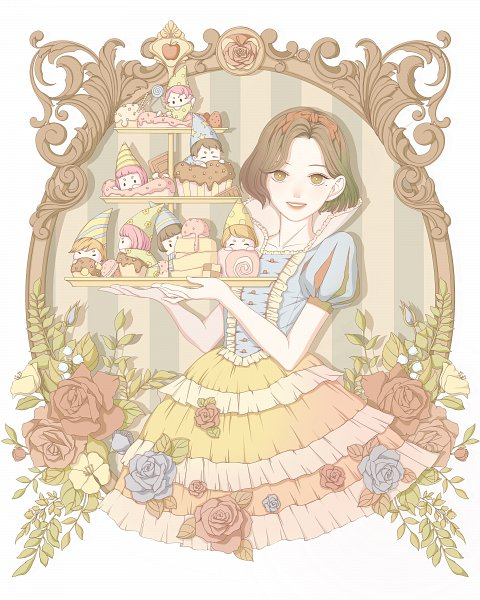 Tags: Anime, Pixiv Id 5521077, Snow White and the Seven Dwarfs, Snow White and the Seven Dwarfs (Disney), Snow White, Snow White (Disney) (Character), Pixiv, Fanart From Pixiv, Fanart, Disney
