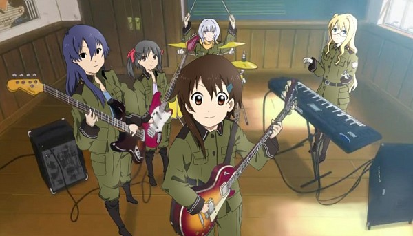 Tags: Anime, So Ra No Wo To, Suminoya Kureha, Filicia Heideman, Kannagi Noël, Sorami Kanata, Kazumiya Rio, K-ON! (Parody), Keyboard (Instrument), K-ON! Character Design, Artist Request, Sound Of The Sky