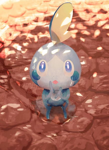 Tags: Anime, Pixiv Id 15104430, Pokémon, Sobble, Fanart From Pixiv, Pixiv, Fanart