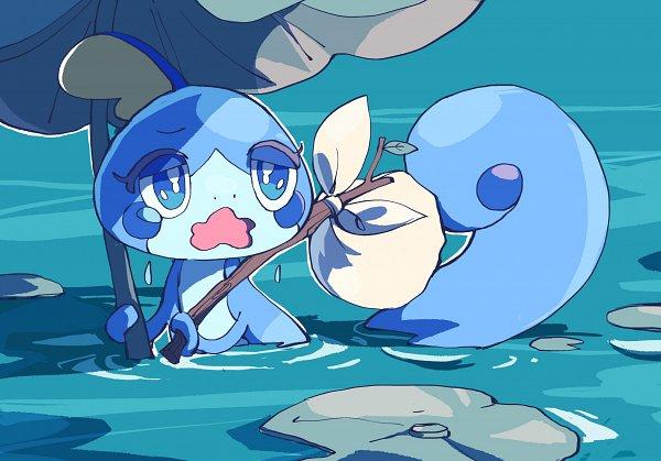 Tags: Anime, Pixiv Id 3308977, Pokémon Sword & Shield, Pokémon, Sobble, Wavy Mouth, Fanart From Pixiv, Pixiv, Fanart