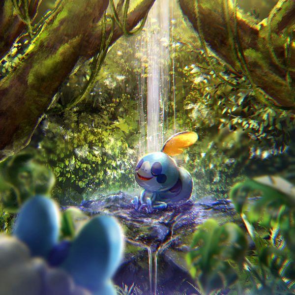 Tags: Anime, Pixiv Id 5810218, Pokémon Sword & Shield, Pokémon, Sobble, Fanart, Fanart From Pixiv, Pixiv