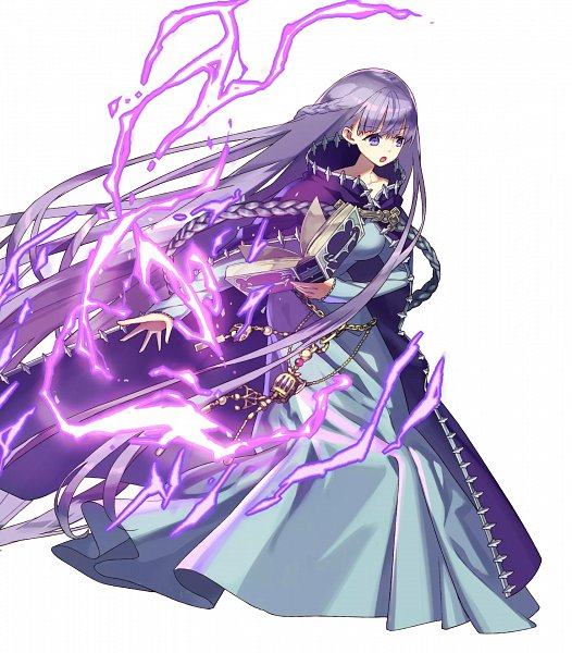Tags: Anime, Zaza, Intelligent Systems, Fire Emblem Heroes, Sofiya, Chain Belt, PNG Conversion, Official Art