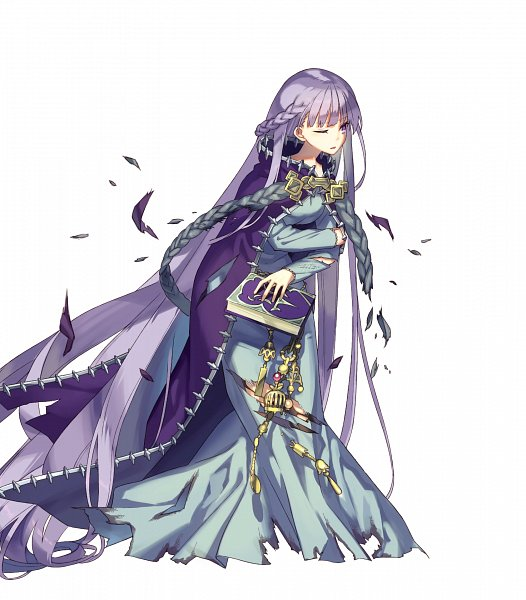 Tags: Anime, Zaza, Intelligent Systems, Fire Emblem Heroes, Sofiya, Chain Belt, Torn Thigh Highs, Official Art, PNG Conversion