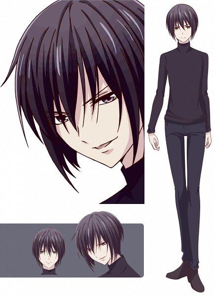 Tags: Anime, Shindo Masaru, TMS Entertainment, Fruits Basket, Sohma Akito, Character Sheet, Official Art, Edited