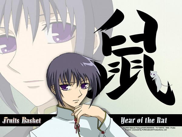 Tags: Anime, Fruits Basket, Sohma Yuki (rat), Sohma Yuki, Wallpaper