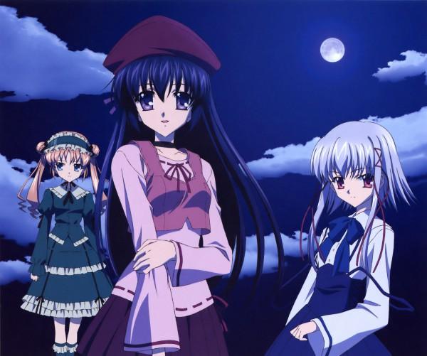 Tags: Anime, Koga Makoto, Sola, Morimiya Aono, Shihou Matsuri, Kamikawa Mayuko