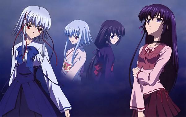 Tags: Anime, Sola, Morimiya Aono, Shihou Matsuri, Official Art