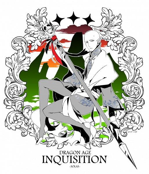 Tags: Anime, Pixiv Id 3765, Dragon Age: Inquisition, Solas, Fanart, Fanart From Pixiv, Pixiv