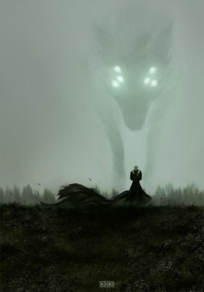 Tags: Anime, Nipuni, Dragon Age: Inquisition, Solas, Beast, Tumblr, Fanart