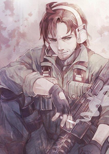 Tags: Anime, Senano Yu, Metal Gear Solid, Solid Snake, Fanart, Pixiv, Fanart From Pixiv