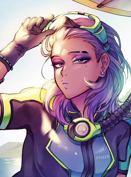 Tags: Anime, Pixiv Id 17439308, Overwatch, Sombra (Overwatch), Fanart From Pixiv, Pixiv, Fanart