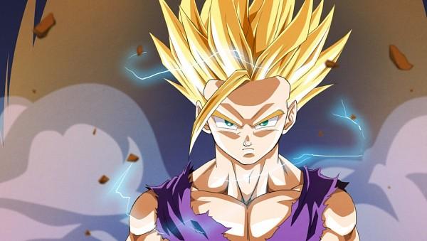 Tags: Anime, DRAGON BALL, DRAGON BALL Z, Son Gohan, Fanart, Super Saiyan 2, Super Saiyan
