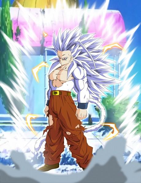 Tags: Anime, DRAGON BALL, Son Gohan, Artist Request, Super Saiyan 5