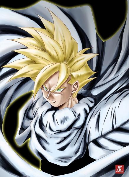 Tags: Anime, DRAGON BALL, DRAGON BALL Z, Son Gohan, Mobile Wallpaper, Super Saiyan
