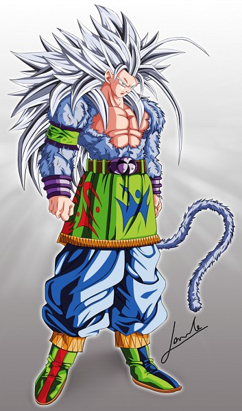 Tags: Anime, DRAGON BALL, Son Goku (DRAGON BALL), Mobile Wallpaper, Fanart, Artist Request, Super Saiyan 5