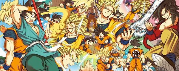 Tags: Anime, Pixiv Id 1352850, DRAGON BALL, DRAGON BALL GT, DRAGON BALL Z, Son Goku (DRAGON BALL), Dragonball (Object), Pixiv, Fanart From Pixiv, Fanart, Super Saiyan 3, Super Saiyan 4, Super Saiyan