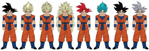 Tags: Anime, Jacenwade, DRAGON BALL, DRAGON BALL SUPER, Son Goku (DRAGON BALL), Vector, deviantART, Super Saiyan 2, Super Saiyan 3, Super Saiyan Blue, Super Saiyan 5, Super Saiyan God, Super Saiyan