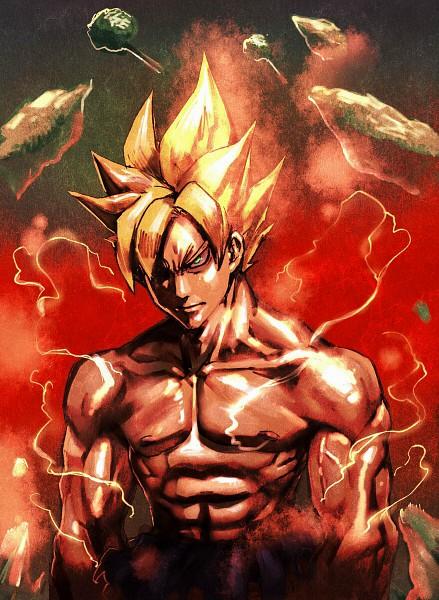 Tags: Anime, DRAGON BALL, DRAGON BALL Z, Son Goku (DRAGON BALL), Aura, Super Saiyan