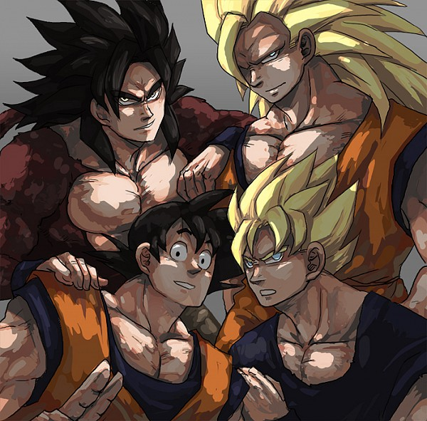 Tags: Anime, Minyi, DRAGON BALL, DRAGON BALL Z, DRAGON BALL GT, Son Goku (DRAGON BALL), Super Saiyan 4, Super Saiyan 3, Super Saiyan