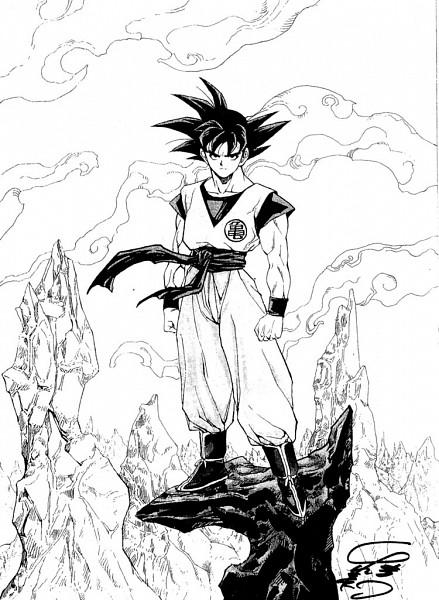 Tags: Anime, Katsura Masakazu, DRAGON BALL, DRAGON BALL Z, Son Goku (DRAGON BALL), Musles