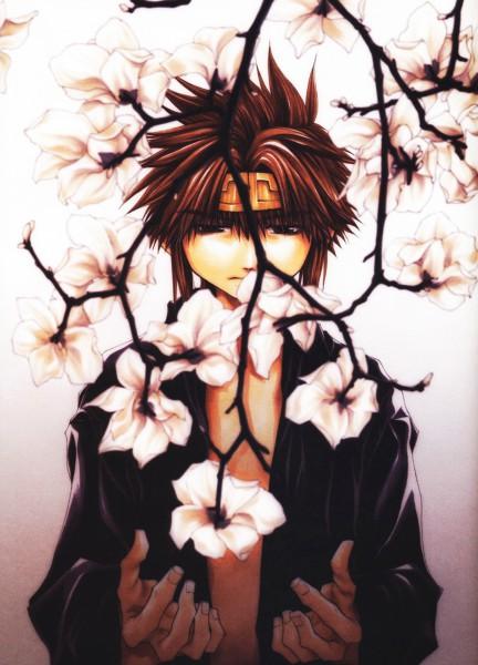 Tags: Anime, Kazuya Minekura, Saiyuki Gaiden, Saiyuki, Son Goku (Saiyuki), Magnolia, Mobile Wallpaper, Official Art