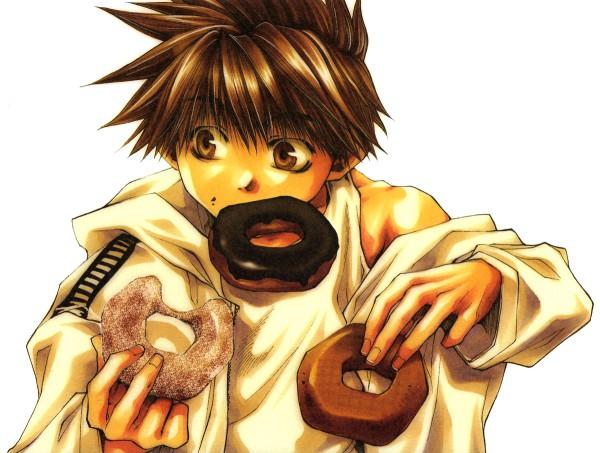 Tags: Anime, Kazuya Minekura, Saiyuki, Son Goku (Saiyuki), Official Art